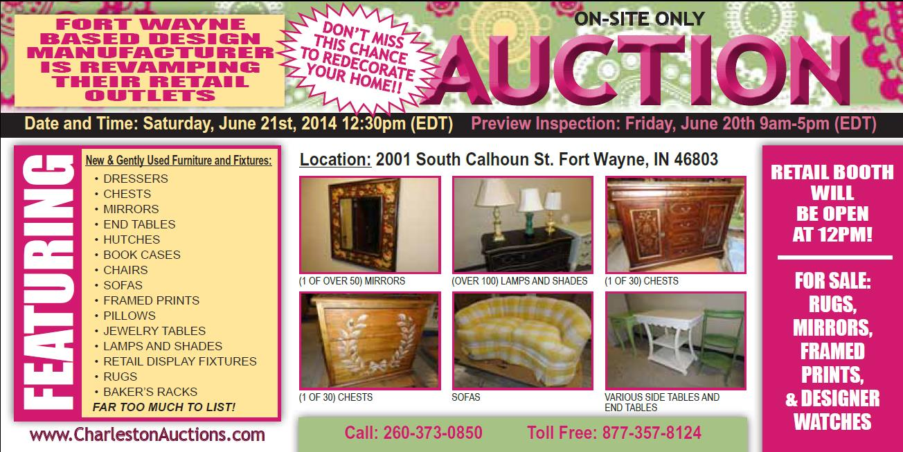 Furniture stores fort wayne indiana - World Renowned Design Manufacturer Fort Wayne In Furniture And Fixtures Of Retail Stores To Be Sold Onsite Auction