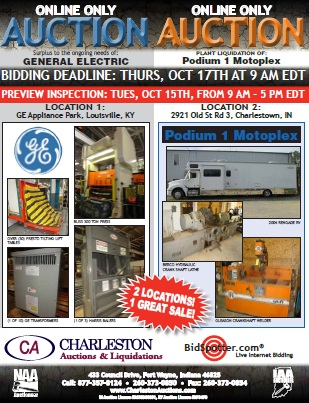 Charleston Auctions - Past Projects: